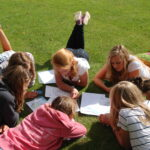 DofE students planning routes