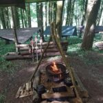 Fire at our Bushcraft Site