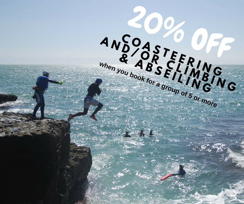 coasteering offer