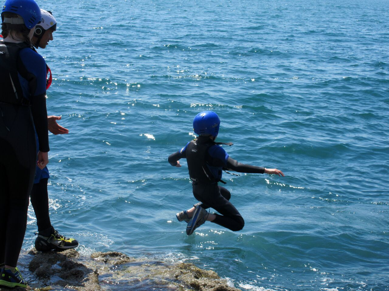 coasteering activity as part of residential