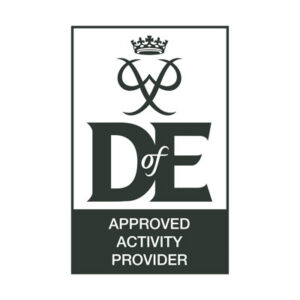 DofE approved activity provider logo