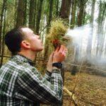 Bushcraft firelighting tuition