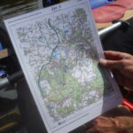 Plotting the route on the map