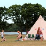 Family outdoor education trips in Dorset.