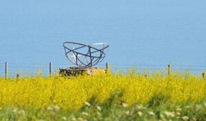 The radar monument at St Aldhelms Head