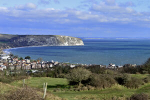 Ballard Down and Swanage Bay Purbeck Dorset