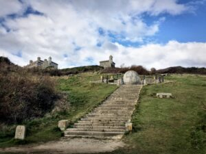 The Great Globe at Durlston in Swanage Dorset