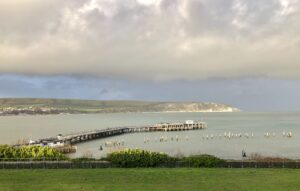 Swanage old pier Purbeck Dorset