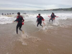 NCS beach safety at Studland Beach