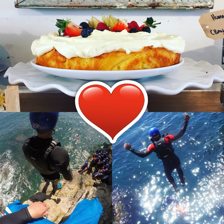 Cream cakes and coasteering valentines day offer