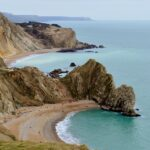 View to Durdle Door and Man o'War Bay