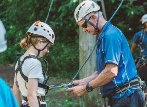 high ropes instructor