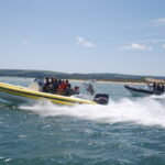 power boat trip new to gold residential programme