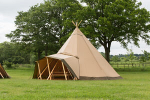 nordic tipi at cumulus outdoors