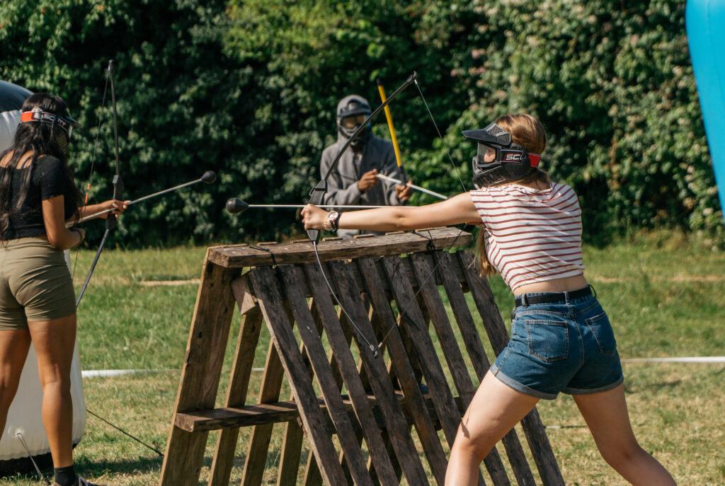 tag archery for schools