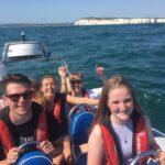 power boating on the jurassic coast