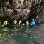 coasteering on jurassic coast dofe